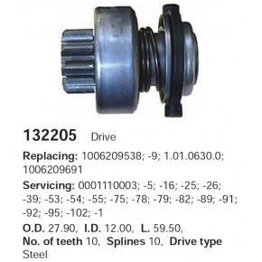 132205c_=ZN101630=42-42-61 Бендикс_Fiat Uno,Tipo 1.4 D,TD,1.7D,TD (86-89)
