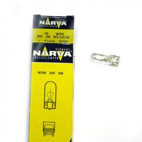 17197 Лампа NARVA 5W 24V