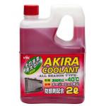 Akira Coolant -40 красный / Антифриз всесезонный (2л)