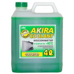 Akira Coolant -40 зеленый / Антифриз всесезонный (4л)