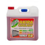 Akira Coolant -40 красный / Антифриз всесезонный (5л)
