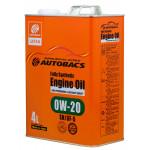 AUTOBACS ENGINE OIL FS 0W20 SN/GF-5 / Моторное масло (4л)