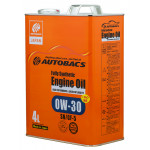 AUTOBACS ENGINE OIL FS 0W30 SN/GF-5+PAO / Моторное масло (4л)