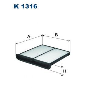 FILTRON K1316 Фильтр салонный