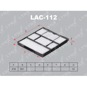 LF233 Фильтр топливный LYNXauto