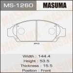 Колодки Masuma MS-1260
