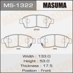 Колодки Masuma MS-1322