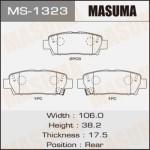 Колодки Masuma MS-1323