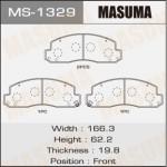 Колодки Masuma MS-1329