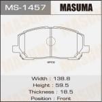 Колодки Masuma MS-1457