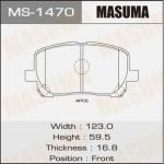 Колодки Masuma MS-1470