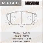 Колодки Masuma MS-1497