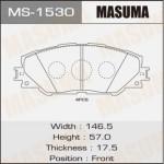 Колодки Masuma MS-1530