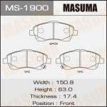 Колодки Masuma MS-1900