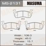 Колодки Masuma MS-2131