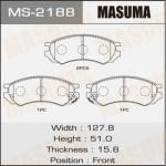 Колодки Masuma MS-2188