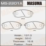Колодки Masuma MS-2201