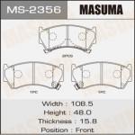 Колодки Masuma MS-2356