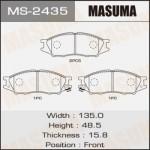 Колодки Masuma MS-2435