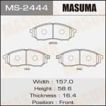 Колодки Masuma MS-2444