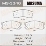 Колодки Masuma MS-3346