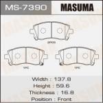 Колодки Masuma MS-7390