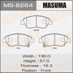 Колодки Masuma MS-8264